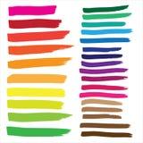 De reeks van de tellerstekening in Vectorformaat De kleur kan door één worden veranderd klikt Stock Foto
