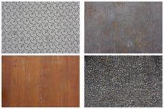 De Reeks van de textuur Stock Afbeelding