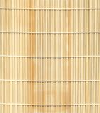 De Reeks van de textuur: De Mat van het bamboe Royalty-vrije Stock Afbeelding