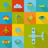 De reeks van de vliegtuigpartij Royalty-vrije Stock Afbeelding