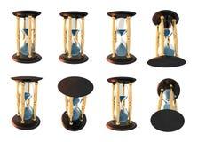 De reeks van de zandloper Royalty-vrije Stock Afbeelding