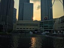 De reeks van de zon Stock Fotografie