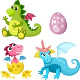 De reeks van Dino Royalty-vrije Stock Afbeelding