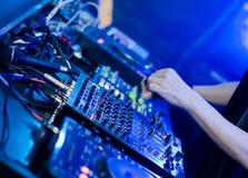De reeks van DJ Stock Foto's