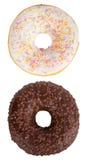 De reeks van Donuts stock foto's