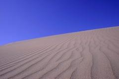 De Reeks van duinen Stock Afbeeldingen