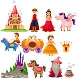 De reeks van Fairytale Stock Afbeelding