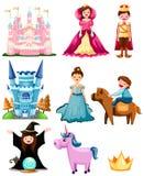 De reeks van Fairytale Royalty-vrije Stock Afbeelding