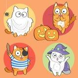 De reeks van Halloween Stock Foto's