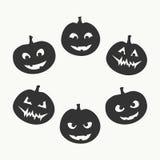 De reeks van Halloween royalty-vrije illustratie