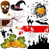 De reeks van Halloween Stock Fotografie