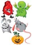 De reeks van Halloween Royalty-vrije Stock Afbeelding