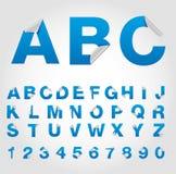 De reeks van het alfabet van symbool Royalty-vrije Stock Foto