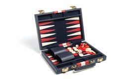 De Reeks van het backgammon royalty-vrije stock afbeeldingen
