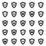 De reeks van het beschermingspictogram vector illustratie