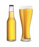 De reeks van het bier Stock Illustratie