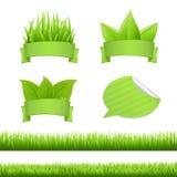 De Reeks van het gras Royalty-vrije Stock Afbeelding