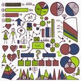 De Reeks van het Infographicelement Royalty-vrije Stock Afbeeldingen