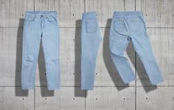 De reeks van het jeansmodel Royalty-vrije Stock Foto