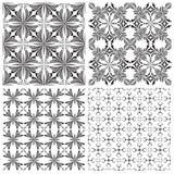 De Reeks van het kruisbeeldpatroon Stock Afbeeldingen