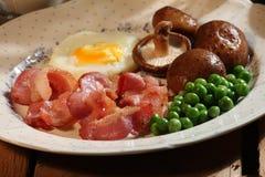 De Reeks van het ontbijt Royalty-vrije Stock Foto's
