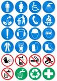 De reeks van het ontwerp verschillende communicatie tekens. Royalty-vrije Stock Foto's