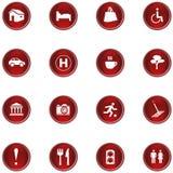 De Reeks van het pictogram Stock Afbeeldingen