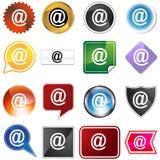 @ De Reeks van het pictogram Stock Afbeeldingen