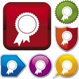 De reeks van het pictogram: toekenning (vector) Stock Fotografie