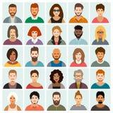 De Reeks van het Pictogram van mensen Vector illustratie stock illustratie