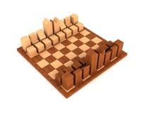 De reeks van het schaak stock foto