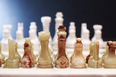 De Reeks van het schaakspel Stock Afbeeldingen