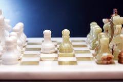 De Reeks van het schaakspel Royalty-vrije Stock Foto's