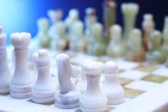 De Reeks van het schaakspel Royalty-vrije Stock Foto