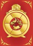 De reeks van het symbool - samsaracirkel Royalty-vrije Stock Fotografie