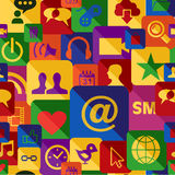 De reeks van het Web apps patroon Royalty-vrije Stock Fotografie