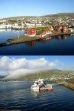 De reeks van IJsland. Verbazende mening Stock Afbeeldingen