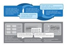 De reeks van Infographics Royalty-vrije Illustratie