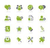 De Reeks van Internet & van Blog // Natura vector illustratie