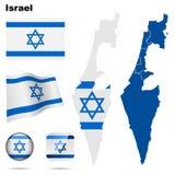 De reeks van Israël. vector illustratie
