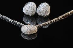 De reeks van juwelen royalty-vrije stock afbeelding