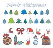 De reeks van Kerstmis Stock Afbeelding