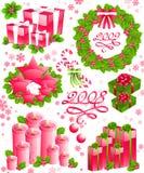 De reeks van Kerstmis. royalty-vrije illustratie
