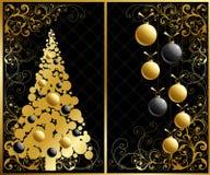 De reeks van Kerstmis. Royalty-vrije Stock Afbeeldingen
