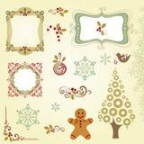 De reeks van Kerstmis Stock Fotografie