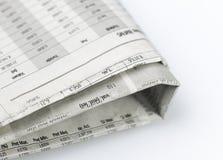 De reeks van kranten Royalty-vrije Stock Afbeelding