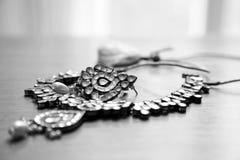 De reeks van Kundanjuwelen Stock Afbeeldingen