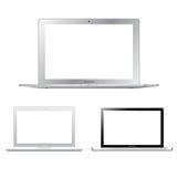 De Reeks van MacBook van de appel Stock Afbeelding
