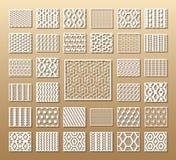 De reeks van matrijs sneed kaarten vector illustratie