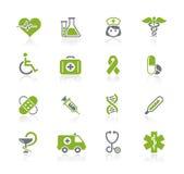 De Reeks van // Natura van de zorg van de geneeskunde & van de Dopheide royalty-vrije illustratie